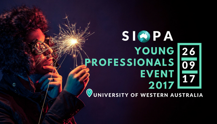 SIOPA INVITES YOU TO OUR FIRST YOUNG PROFESSIONALS EVENT