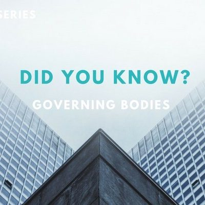 Did you know? Governing Bodies