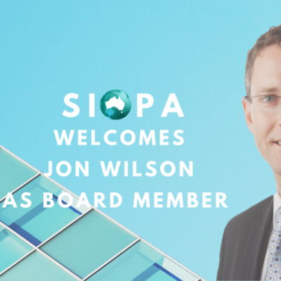 JON WILSON APPOINTED TO THE SIOPA BOARD