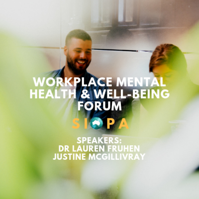 EVENT: Workplace Mental Health and Well-being Forum