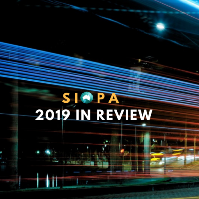 Letter from the President: SIOPA 2019 Highlights