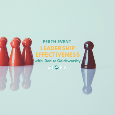PERTH EVENT: Leadership Effectiveness with Denise Goldsworthy (8 September)