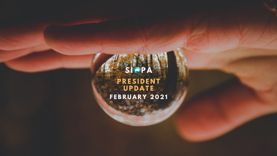 MESSAGE FROM SIOPA PRESIDENT: FEBRUARY 2021